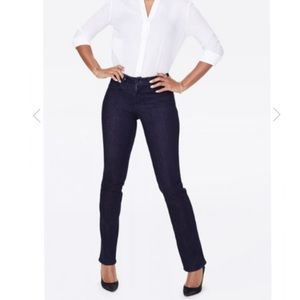 NYDJ Marylin Straight Dark Wash Jeans